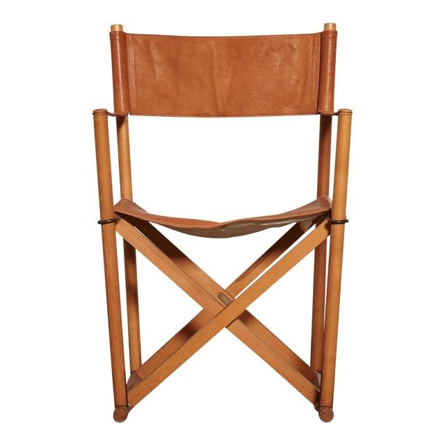 1960s Vinage Mogens Koch Mk-16 Safari Chair for Interna, Denmark For Sale
