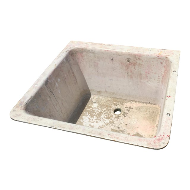 Cast Iron Antique Salvage Utility Sink For Sale