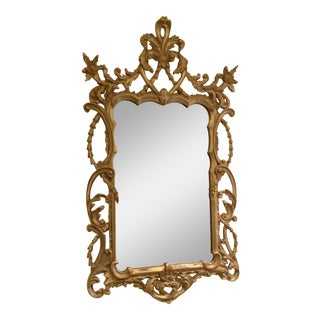 MId 20th Century French Rococo Style Baroque Wall Mirror For Sale
