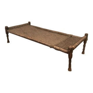 Early 20th Century Indian Charpoy Bed For Sale