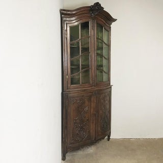 18th Century French Regence Two-Tiered Corner Cabinet Preview