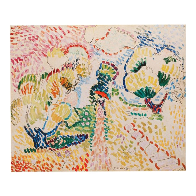 "1947 Henri Matisse, ""The Olives"" Original Period Parisian Lithograph For Sale"