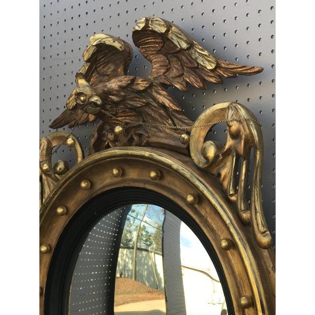 English Traditional Gilded Bullseye Mirror For Sale - Image 3 of 6