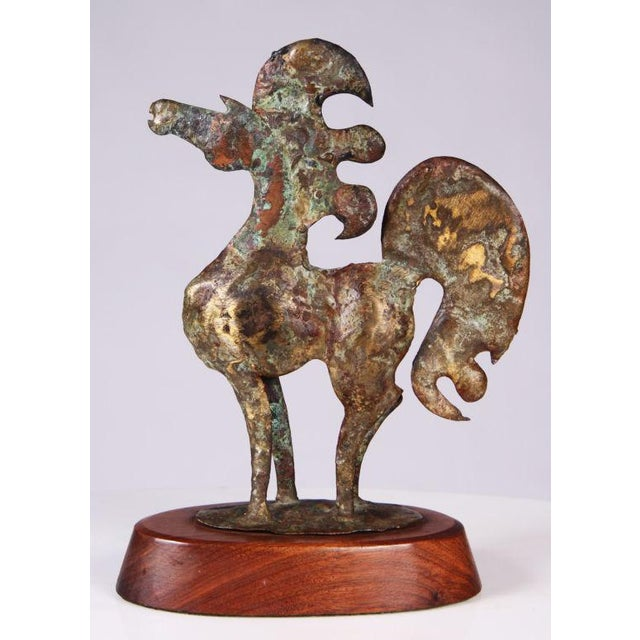 Brutalist Bronze Horse Sculpture by Bill Lett - Image 2 of 6