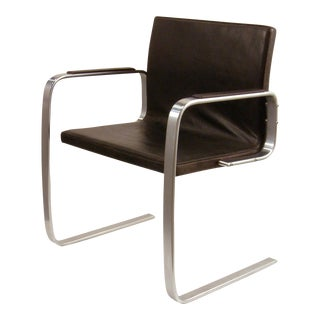 "Rare PK 13 ""Free Swinger"" cantilevered armchair"