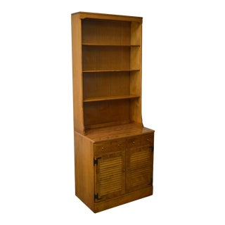 Ethan Allen Custom Room Plan Cabinet Base Bookcase Hutch For Sale