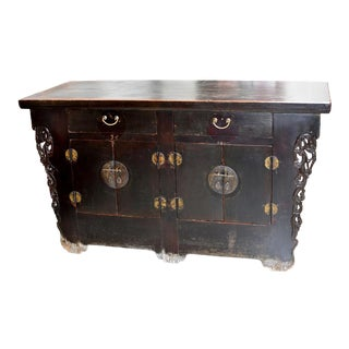 19th Century Chinese 2 Drawer Connection Sideboard For Sale