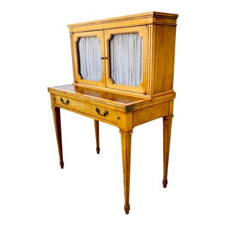 Bonheur Du Jour Desk French Provencal Secretary by Baker Milling Road For Sale
