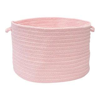 "Bristol Blush Pink 14""x10"" Utility Basket"