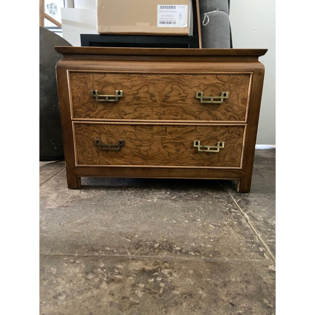 Century Furniture Chin Hua Chinoiserie Two Drawer Nightstand For Sale - Image 9 of 9