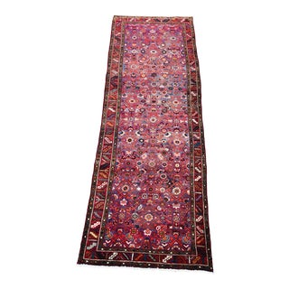 Vintage Persian Karajeh Runner - 3′5″ × 10′4″ For Sale