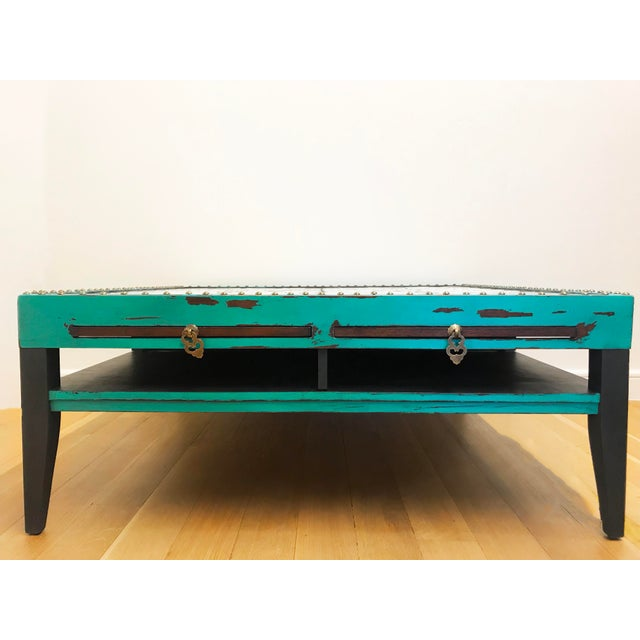 Tile Top Coffee Table For Sale - Image 12 of 13