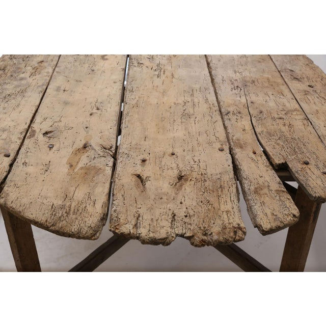 Unusually Large Early Vendange Table For Sale - Image 4 of 13