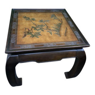 20th Century Chinoiserie Bernhardt Side Table For Sale