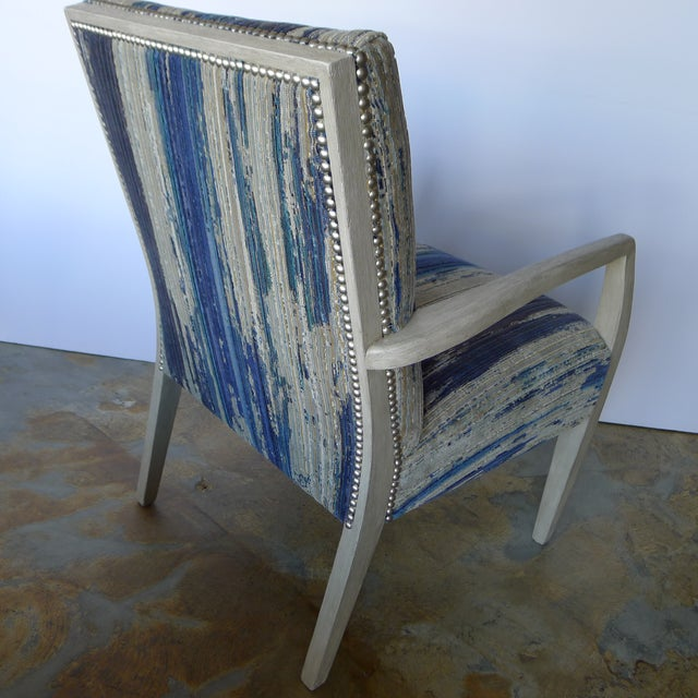 Mid-Century Occasional - Lounge Chair Reimagined For Sale In Los Angeles - Image 6 of 8