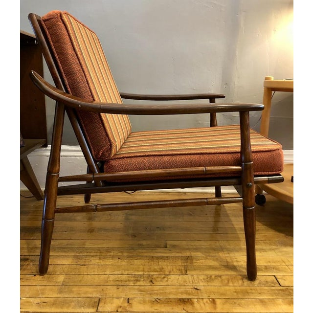 Mid Century Italian Lounge Chair 1960's For Sale - Image 9 of 9
