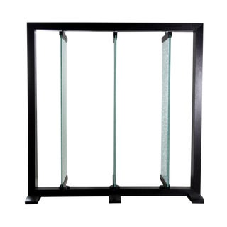 Crackle Glass Space Divider For Sale