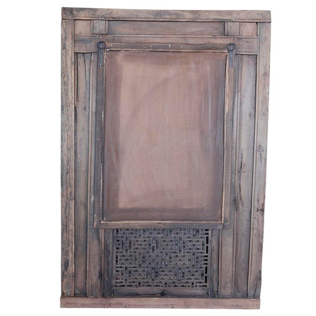 Antique Jarokha Carved Mirror For Sale - Image 4 of 4
