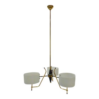 Stilnovo Modern Italian Chandelier For Sale