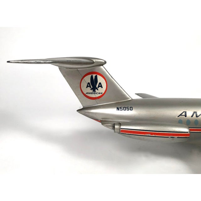 Vintage American Airlines Astrojet Aviation Model For Sale In Boston - Image 6 of 10