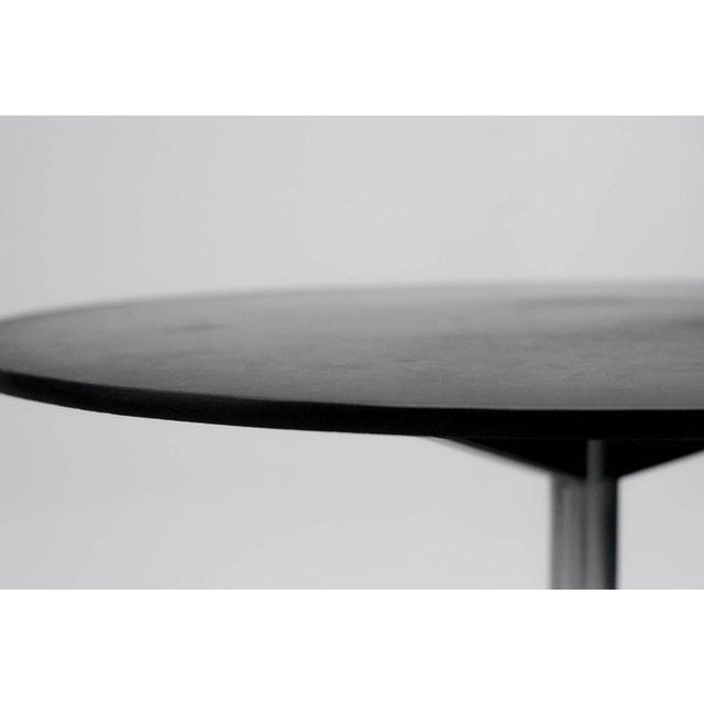 Traditional Dining Table Model Te06 in Slate by Martin Visser for 't Spectrum For Sale - Image 3 of 8