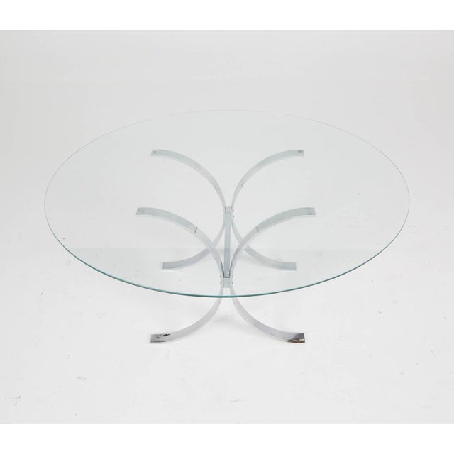 Pace Style Glass and Chrome Coffee Table - Image 6 of 7