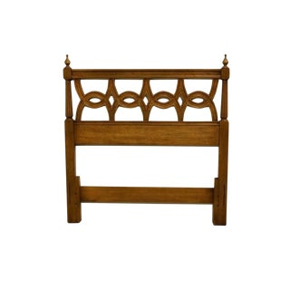 Late 20th Century Thomasville Furniture Belvedere Collection Twin Headboard For Sale