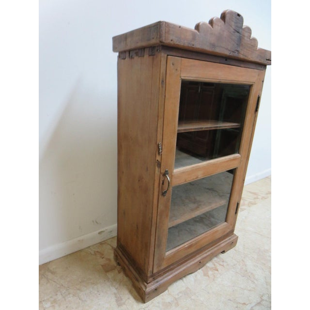 Primitive Antique Primitive China Cabinet Cupboard For Sale - Image 3 of 6 - Antique Primitive China Cabinet Cupboard Chairish