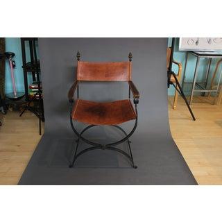 1950s Vintage Italian Renaissance Savonarola Chair Preview