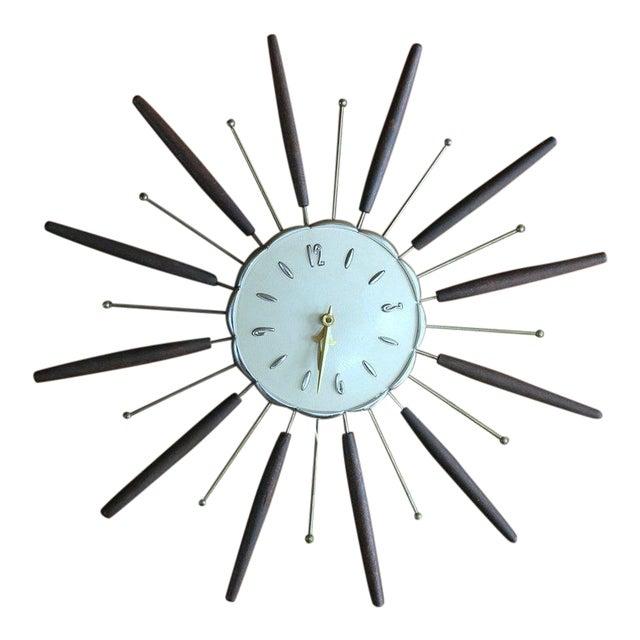 Robertshaw Lux Starburst Clock For Sale