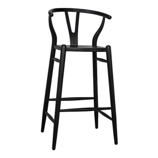 Charcoal Black Zola Barstool For Sale