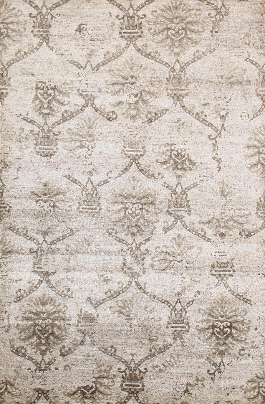 Pasargad Transitiona Wool Area Rug 6 0 Quot X 8 11 Quot Chairish