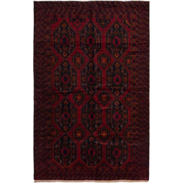 """Vintage Finest Rizbaft Afghan Rug - 8'2"""" X 12'6"""" - Image 1 of 2"""