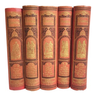 Lessing Vintage German Books - Set of 5