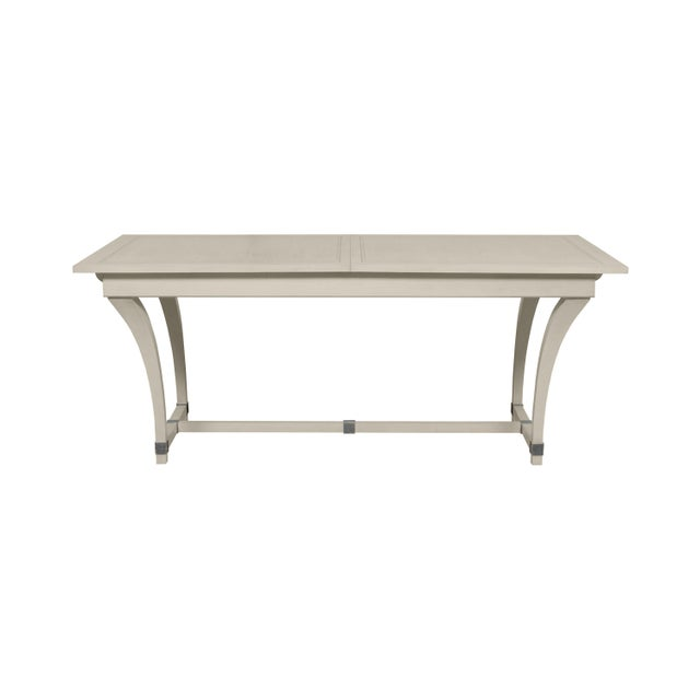 Traditional Casa Cosima Living Rhodes Dining Table - Revere Pewter For Sale - Image 3 of 3