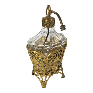 Early 20th Century Vintage Perfume Bottle For Sale
