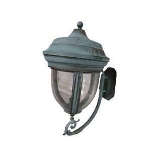 Outdoor Handcrafted Solid Brass Lantern
