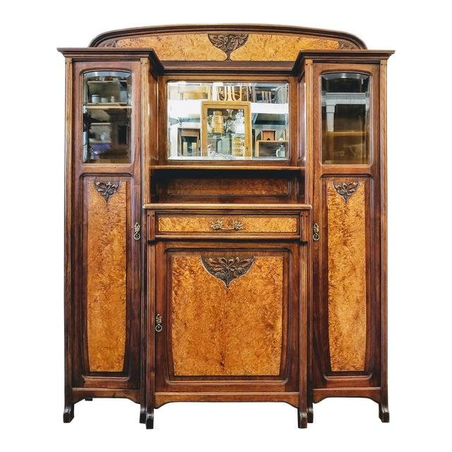 1900s Art Nouveau Gauthier-Poinsignon Ecole Nancy Main Buffet For Sale