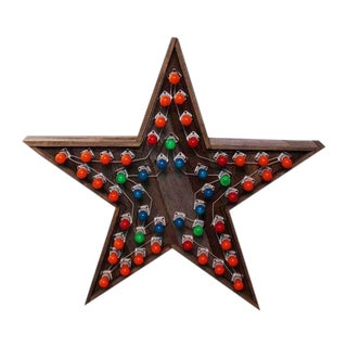 Wooden Multi Speed Star Light