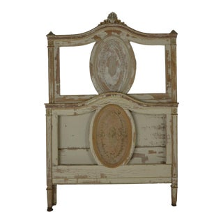 Mid 20th Century Louis XVI Twin Bedframe For Sale