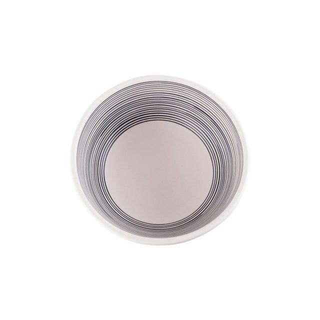 Ettore Sottsass Ettore Sottsass Black & White Bowl for Bitossi For Sale - Image 4 of 7