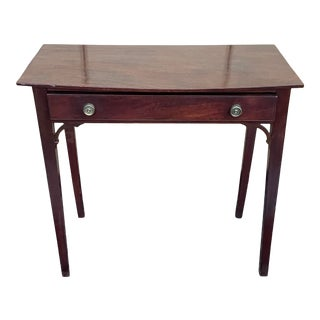 Primitive Shaker Style Cherry Writing Desk For Sale