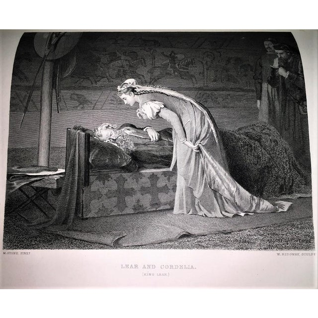 19c Works of Shakespere Imperial Edition by Charles Knight Vol II With Illustrations on Steel For Sale - Image 10 of 13