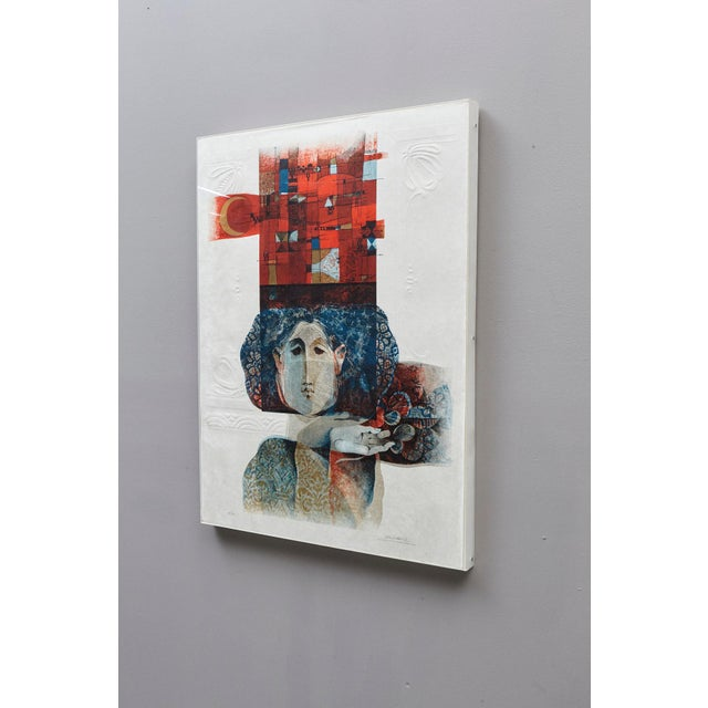 Modern Alvar Sunol Munoz-Ramos, Untitled, Signed and Numbered, # 63/80, 1980 For Sale - Image 3 of 12