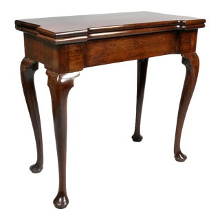 Mid 18th Century George II Purpleheart Games Table For Sale