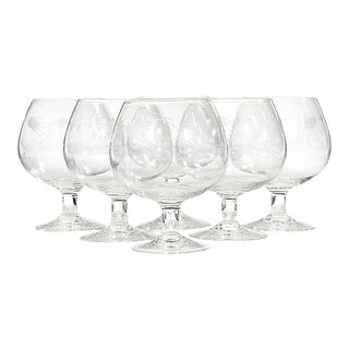 1960s Thistle Brandy Snifters, Set of 6 For Sale