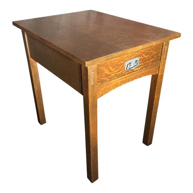 Mission Collection 89-501 Rectangular End Table For Sale