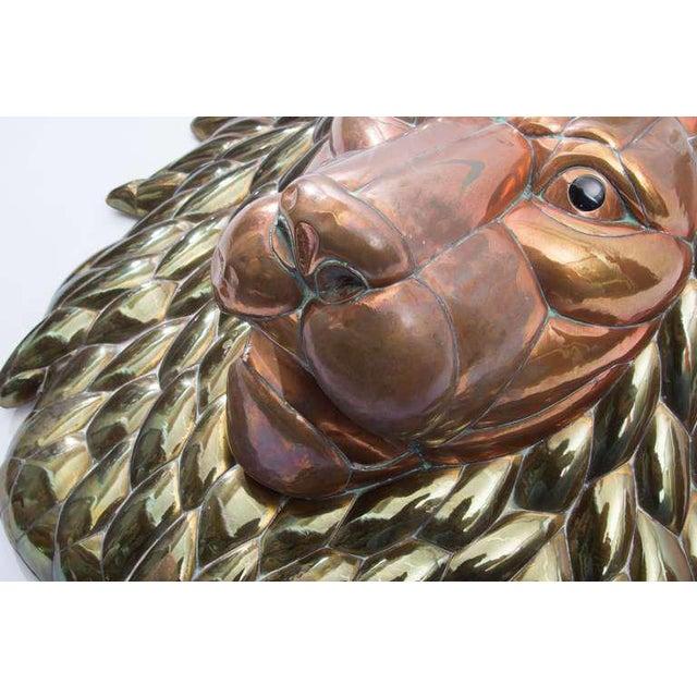 1980s Sergio Bustamante Lion Head - Image 3 of 5