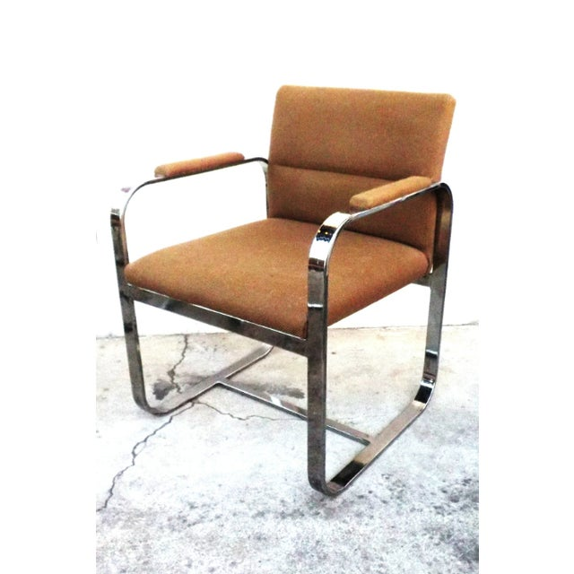 Mid-Century Modern Chrome Chairs - Set of 4 - Image 4 of 7