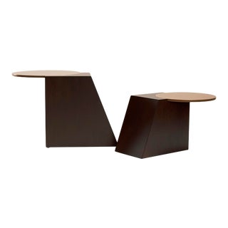 V Tables by Jason Mizrahi - a Pair For Sale